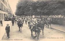 CPA 54 NANCY CORTEGE HISTORIQUE 1909 CROISES