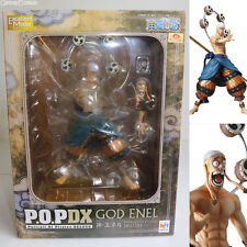 [USED] P.O.P NEO-DX God Enel One Piece Figure MegaHouse Japan