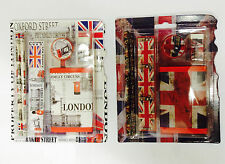UNION JACK SCHOOL SET - LONDON SCENE SCHOOL SET - BRITISH SOUVENIRS GIFT PACK 2