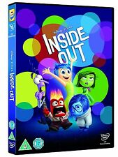 Inside Out Movie Animation Disney Pixar - New Sealed Pete Docter R2 DVD Genuine