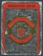 PANINI FOOTBALL 87-#166-MANCHESTER UNITED TEAM BADGE