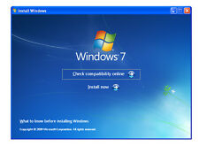 Windows 7 32 & 64 bit Recovery ReInstall Repair Disc Home Premium Pro Ultimate