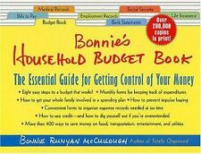 Bonnie's Household Budget Book: The Essential Guide for Getting Control of Your