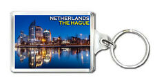 THE HAGUE NETHERLANDS MOD3 KEYRING SOUVENIR LLAVERO