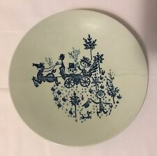 Nymolle Denmark Bjorn Wiinblad Wedding Carriage Small Plate 3001-120
