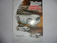 MECANNO 8951 TUNING RADIO CONTROL INSTRUCTION MANUEL