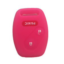 2+1 Buttons Hot Pink Key Remote Key Fob Skin Key Cover Key fit for Honda