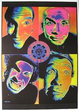 "RED HOT CHILI PEPPERS POSTER ""4 FACES"""