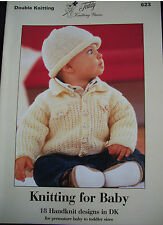 Baby Knitting  Booklet - Knitting 4 Baby ( 623 )