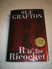 R Is for Ricochet by Sue Grafton SIGNED 1st/1st 2004 HCDJ