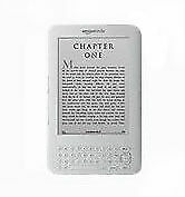 "Amazon Kindle Keyboard 3G Free+ Wi-Fi 6"" E Ink Display 4GB eBook Reader (3rd Gen"