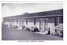 FARMVILLE MOTEL-----FARMVILLE VIRGINIA -------POSTCARD