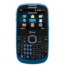 Samsung SGH A187 - Blue (AT&T Unlocked) Cellular Phone QWERTY Keyboard - USED