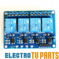 5V 4 Channel Relay Isolate Board Module for Arduino Raspberry Pi ARM AVR DSP PIC