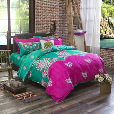 Bohemian Mandala Duvet Cover with Pillow Case Quilt Cover Bedding Set King Size