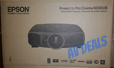 Epson PowerLite Home Cinema 6030UB LCD 3D 1080P Projector with (2) Glasses