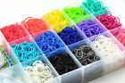 Rainbow Loom Bands 600+ S-clips + 1 Bag for free