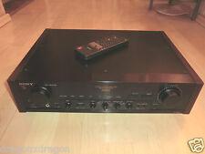 Sony ta-e80es High-End Amplificatore NERA, incl. telecomando, 2 ANNI GARANZIA