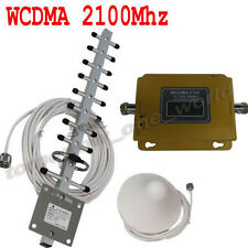 New 2016 3G 2100MHz Mobile Cell Phone Signal Booster Repeater With Yagi WCDMA
