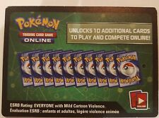 2x Pokemon XY BREAKthrough Booster Pack Codes TCG Online