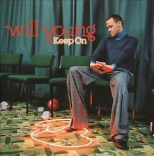 WILL YOUNG, Keep On, 2005 CD One of Many Ex UK Bankrupt Stock Avail