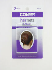 CONAIR BROWN HAIR NETS - 2 PCS. (55577)
