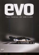 EVO CAR MAGAZINE THE THRILL OF DRIVING - Issue 117 May 2008 COLLECTORS' EDITION