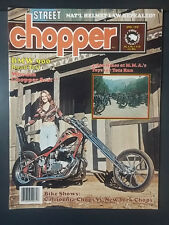 1976 APRIL STREET CHOPPER MAGAZINE MOTORCYCLE HARLEY CUSTOM HONDA BMW 900