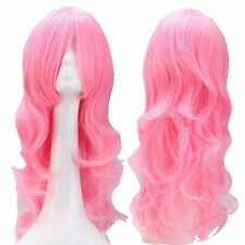 HOT Sale Long Cosplay Anime Wig Synthetic Hair Wig Straight Curly Wavy Women ffb