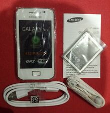 Samsung Galaxy Ace GT-S5830i - Ceramic White (Unlocked)NEW Smartphone