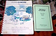 Ford Model T Price List of Body Parts & 1928-1931 Ford Parts Catalog Ford N More