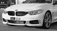 GLOSS BLACK FRONT KIDNEY GRILLES TO FIT BMW M4 435d 435i 420d 430d 428i 4 SERIES