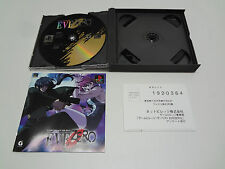 Eve Zero  no spine Sony Playstation Japan W/REG CARD
