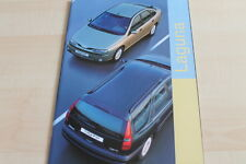 133974) Renault Laguna + Grandtour Prospekt 08/1998