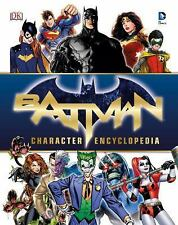 Batman Character Encyclopedia by Matthew K. Manning (2016, Hardcover)
