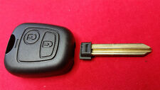 CITROEN BERLINGO & PICASSO 2 BUTTON KEY FOB CASE WITHOUT SCREW