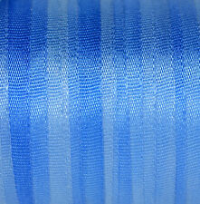 Silk Ribbon for Embroidery 7mm - 3 meters -  Blue Morning Glory