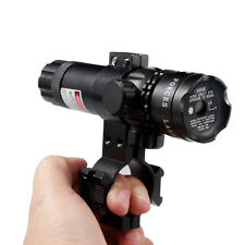 Tactical Powerful Green Laser Zoom Sight Scope Rifle Dot Gun With Remote Switch