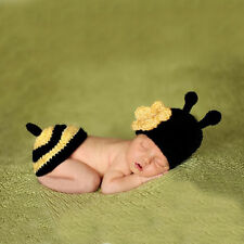Thboxs Newborn Crochet Baby Infant Bee Knit Hat Beanies Photo Photography Prop