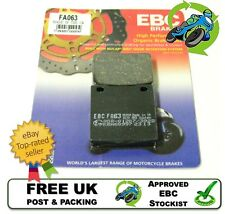 NEW EBC FA063 ORGANIC BRAKE PADS PAD SET REAR SUZUKI GSXR600 GSXR 600 K2 02