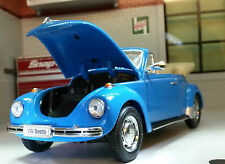VW Beetle Convertible Cabriolet 1303 1:24 Scale Welly Diecast Detailed Model