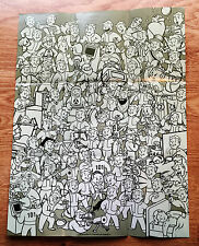"Fallout 3 Promo Vault Boy Perks Poster 14"" x 18"" FO3 Promo *Free US Shippinng*"