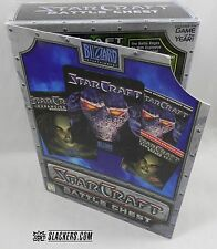 StarCraft BATTLE CHEST Deluxe CD-Rom PC / MAC Blizzard CIB + Brood War Expansion