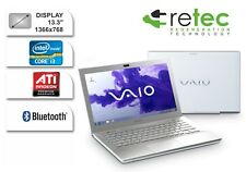 "NOTEBOOK SONY VAIO BIANCO 13.3"" i3 8GB SSD 240GB VGA ATI RADEON BLUETOOTH"