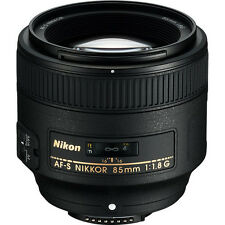 Nikon AF-S 85mm f/1.8G Nikkor Lens for D5500 D7000 D7100 D610 D800 D750 NEW!