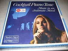 COCKTAIL PIANO TIME MUSIC IN AN INTIMATE MOOD 5xLP NM RDA-103-A 1970