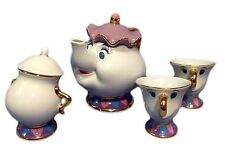 Beauty and the Beast Mrs. Potts and Chip Tea Set Tokyo Disney Resort Limited