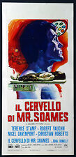 CINEMA-locandina IL CERVELLO DI MR. SOAMES stamp, vaughn, roberts, COOKE