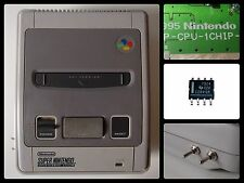SUPER NINTENDO 1 CHIP 50/60 HZ PAL/NTSC - RGB BYPASS + C-SYNC THS 7314 SNES ONE
