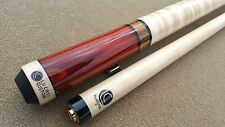 New Custom Lucasi Pool Cue LZC11 Exotic Rengas, Bacote, Curly Maple, FREE 1x1